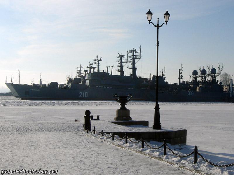 Кронштадт зимой
