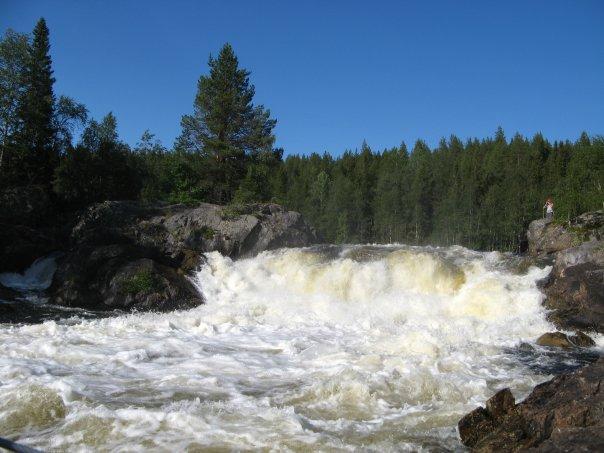 Водопад Кивакка или Киваккакоски