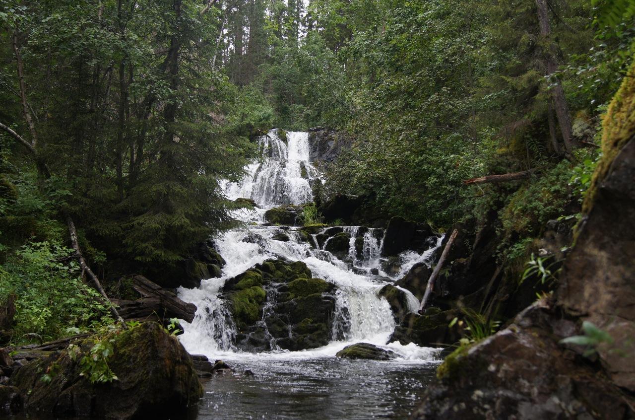 Водопад Мантюкоски