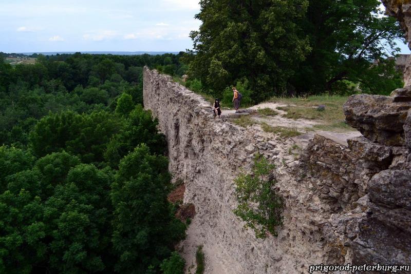 Крепость в Копорье - стена