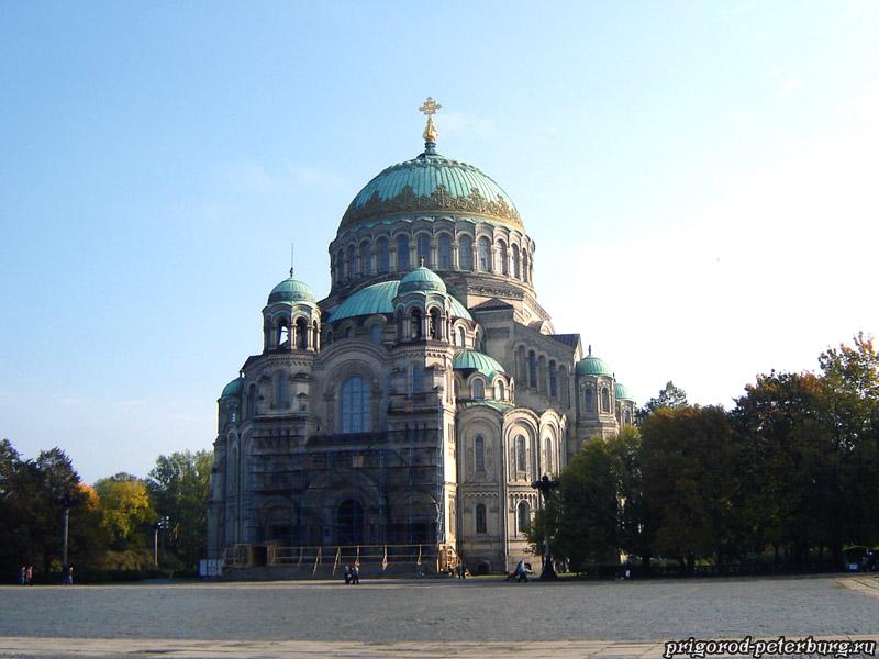 Николаевский Морской собор в Кронштадте