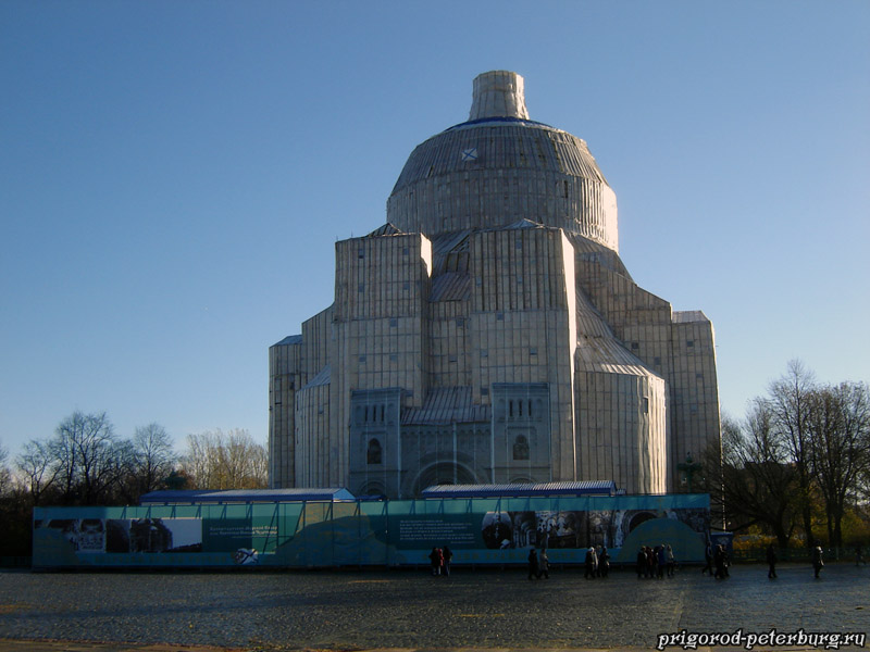 Морской собор на реставрации