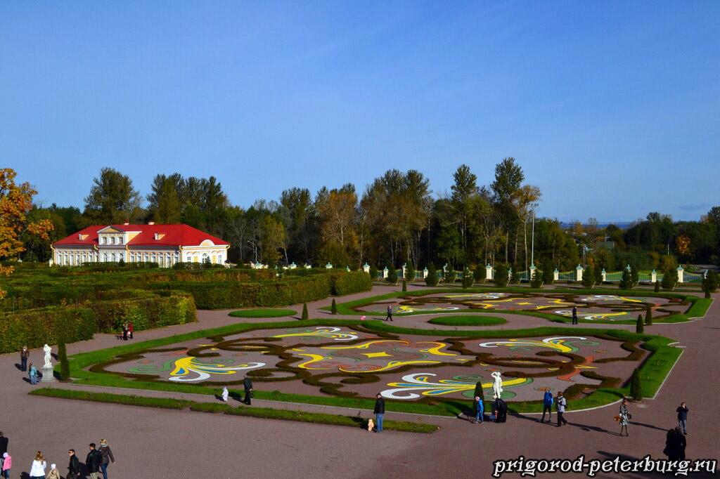 Меньшиковский дворец и парк