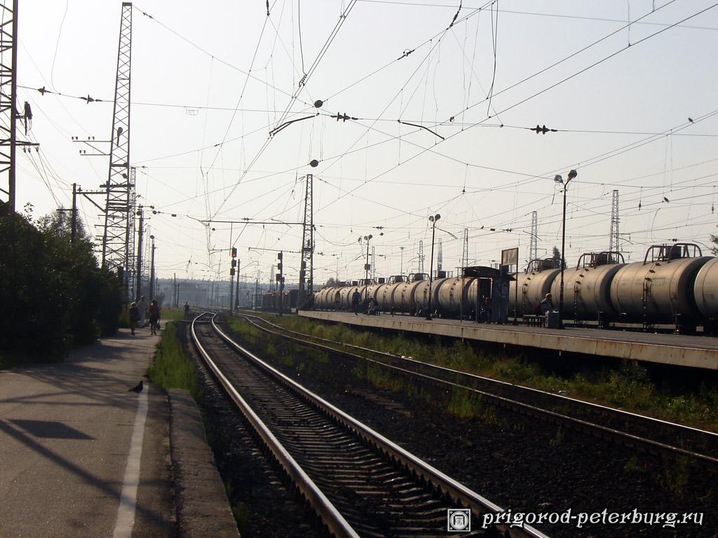 Железнодорожная станция Мга