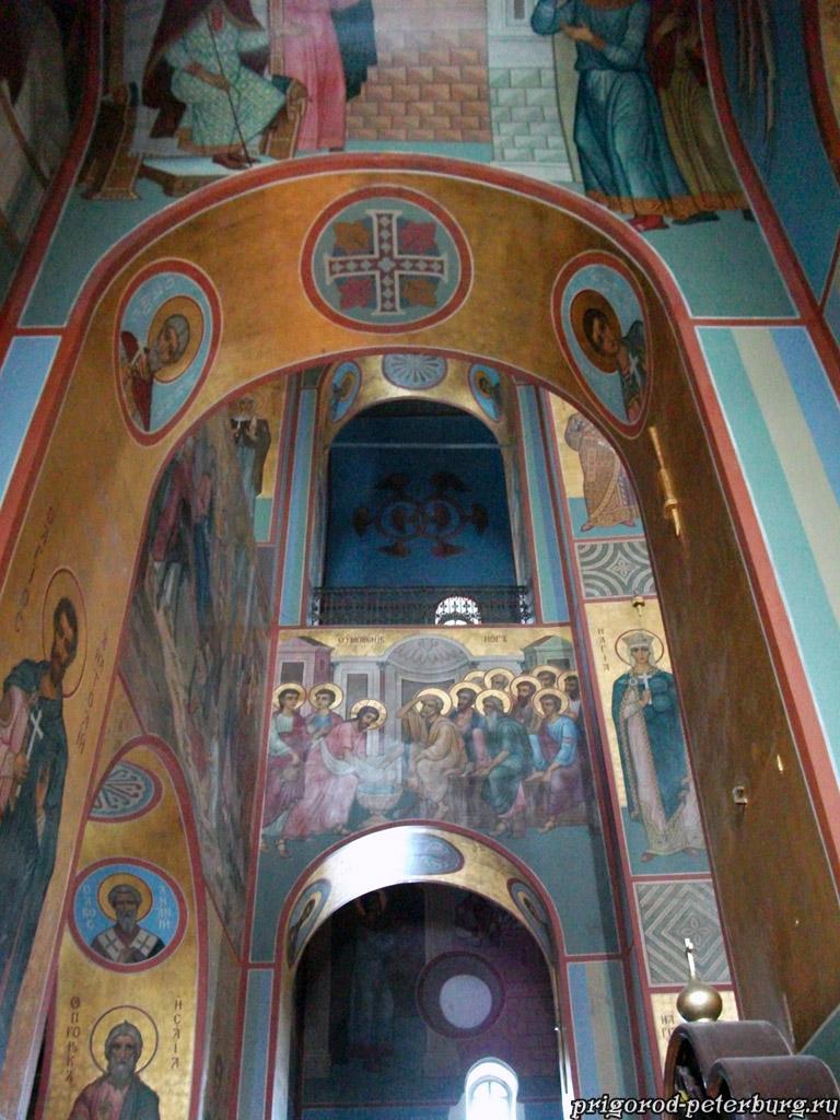 Георгиевский собор Юрьева монастыря - фрески