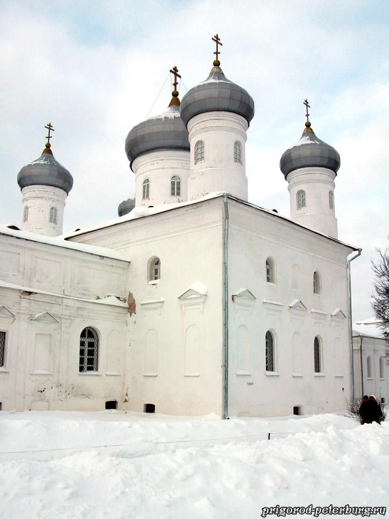 Спасский собор Юрьева монастыря