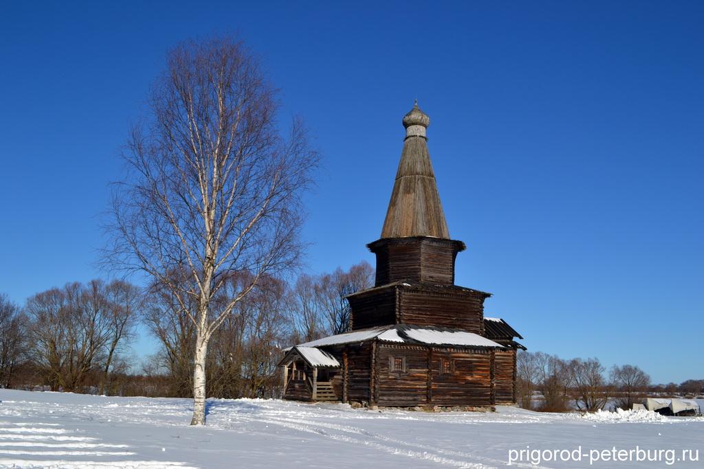 Витославлицы - Церковь Успения (1595 г.)