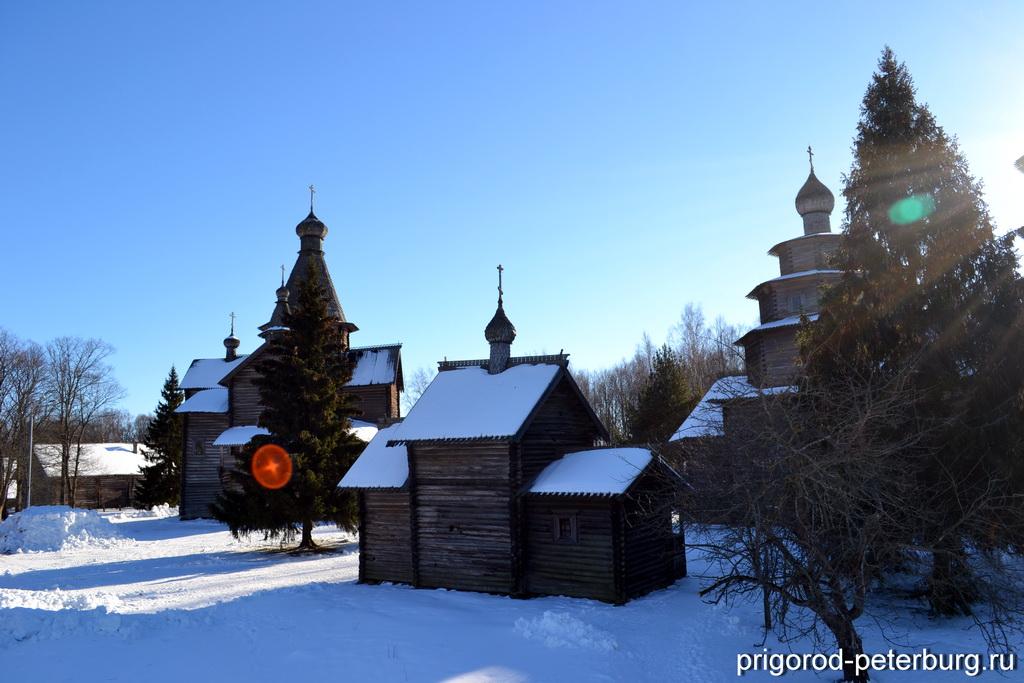 Музей Витославлицы - погост, церкви