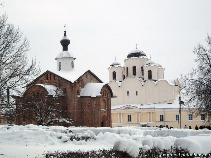 Ярославово Дворище в Великом Новгороде