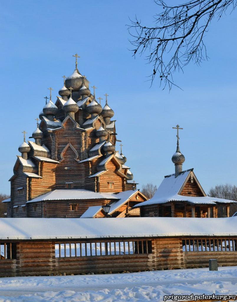 Церковь в Невском лесопарке
