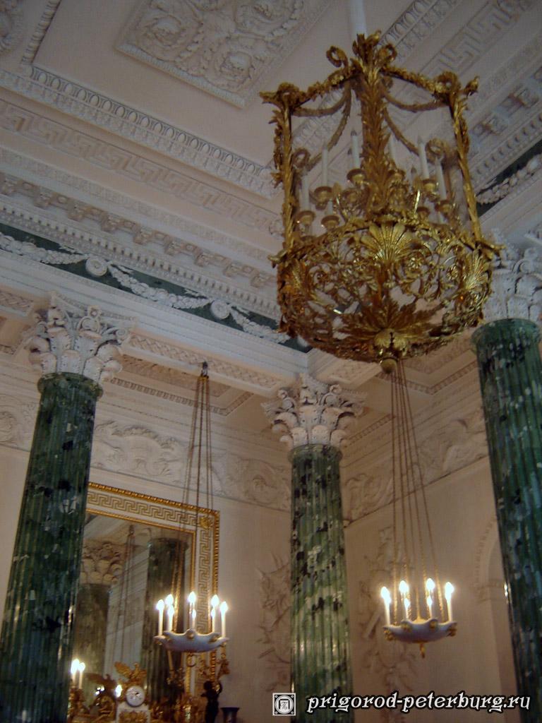 Павловский Дворец. Греческий зал