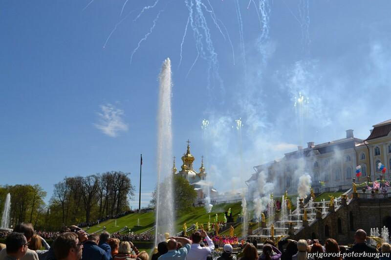 Открытие фонтанов 2011