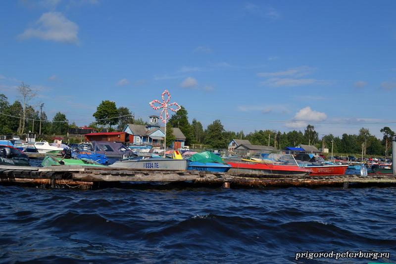 Прокат лодок в Приозерске