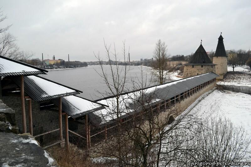 Псковский кремль - смотровая площадка