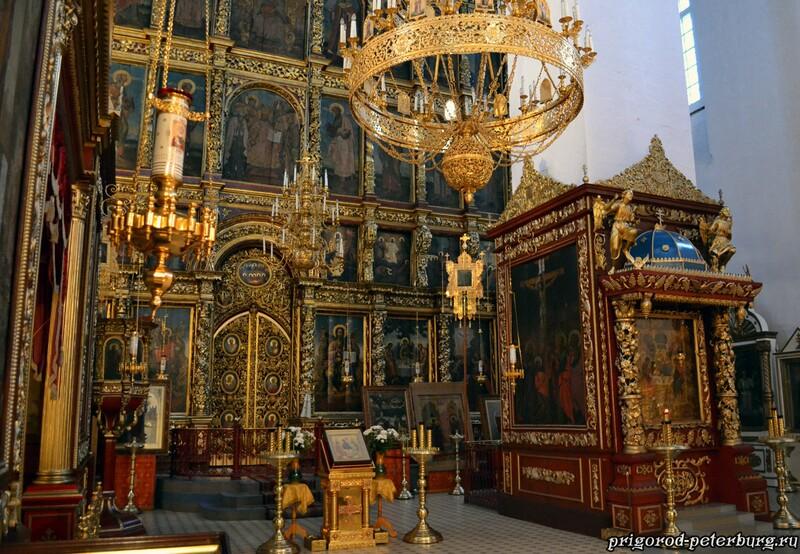 Убранство Троицкого собор в Пскове