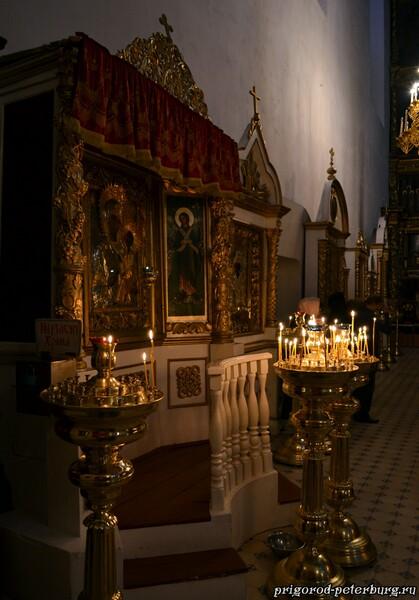 Внутренне убранство Троицкого собор в Пскове