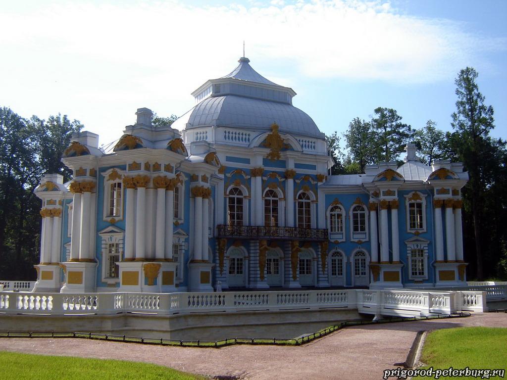 Пушкин - Екатерининский парк - Эрмитаж