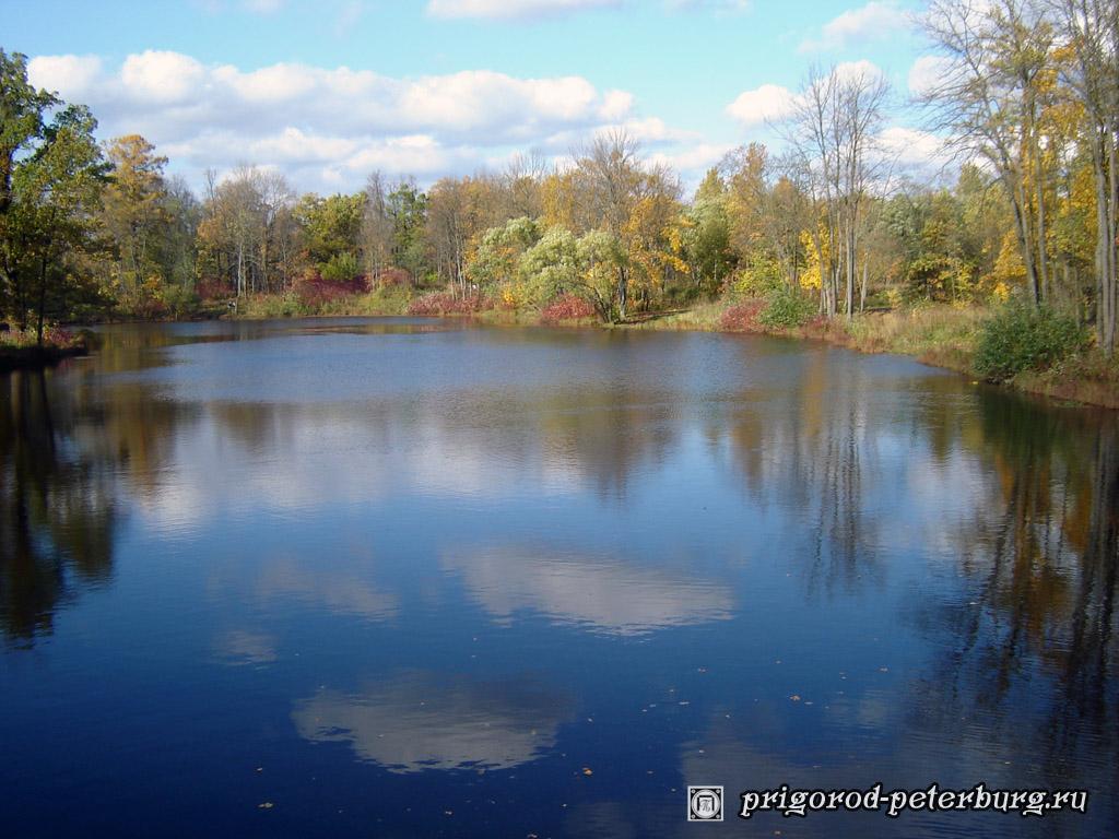 Пушкинский парк осенью