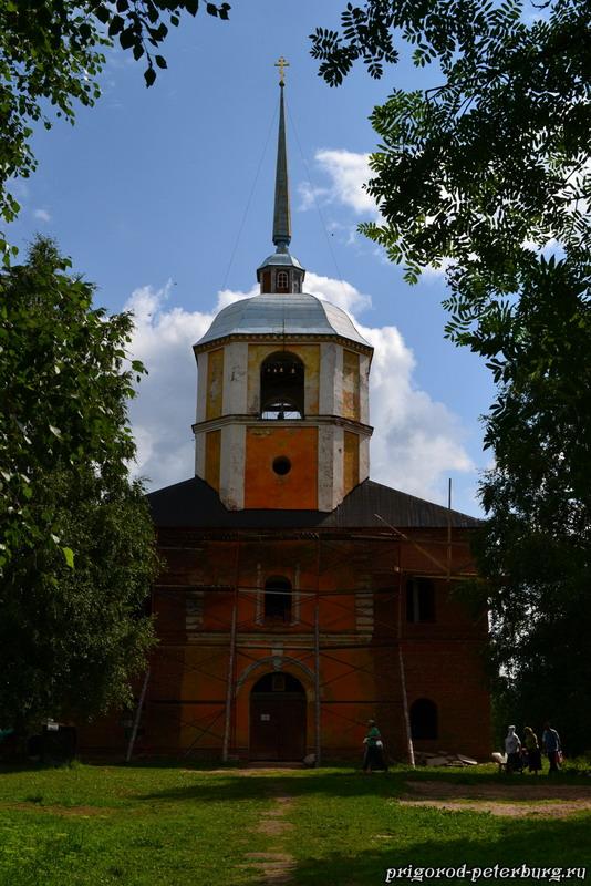 Антониево-Дымский монастырь - церковь Святой Троицы