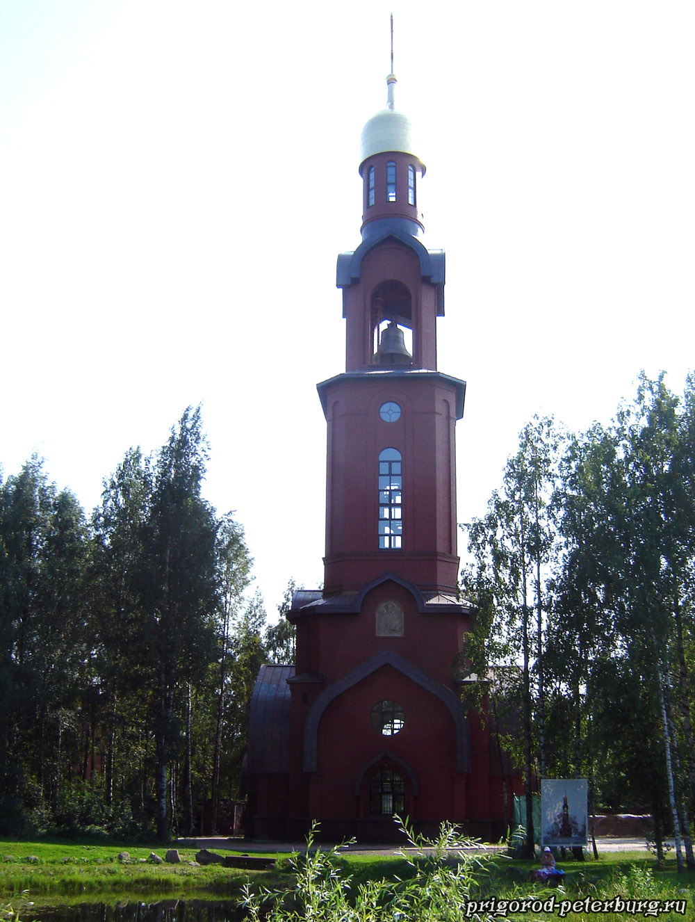 Храм-колокольня в честь святого князя Игоря Черниговского
