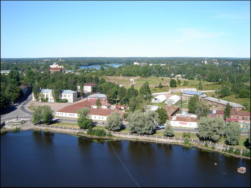 Вид с башни на Аннинские укрепления