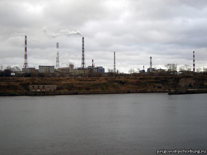 Волховская ГЭС - алюминиевый завод