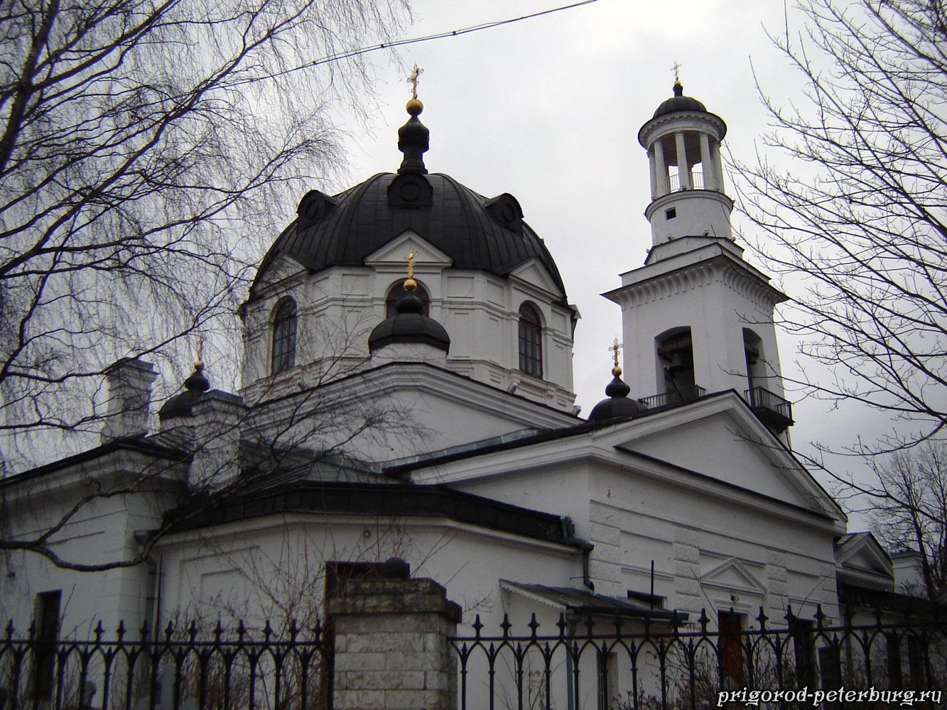 Церковь в Усть-Ижоре