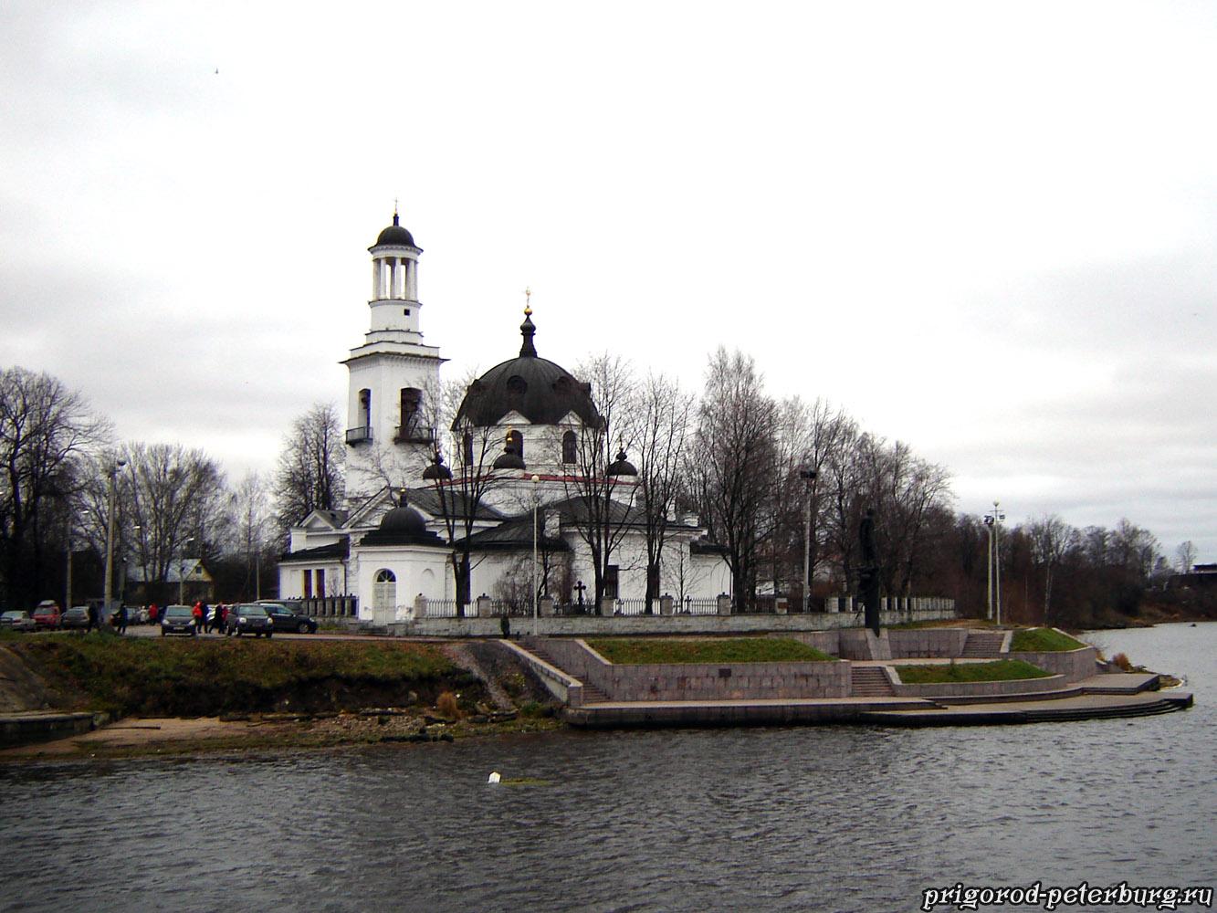 Церковь Святого Александра Невского в Усть-Ижоре