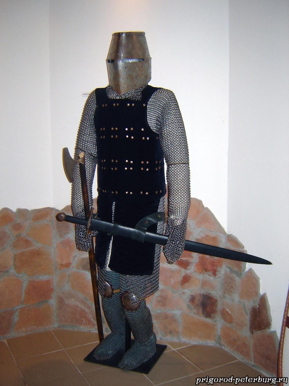Невская битва 1240 - шведский рыцарь