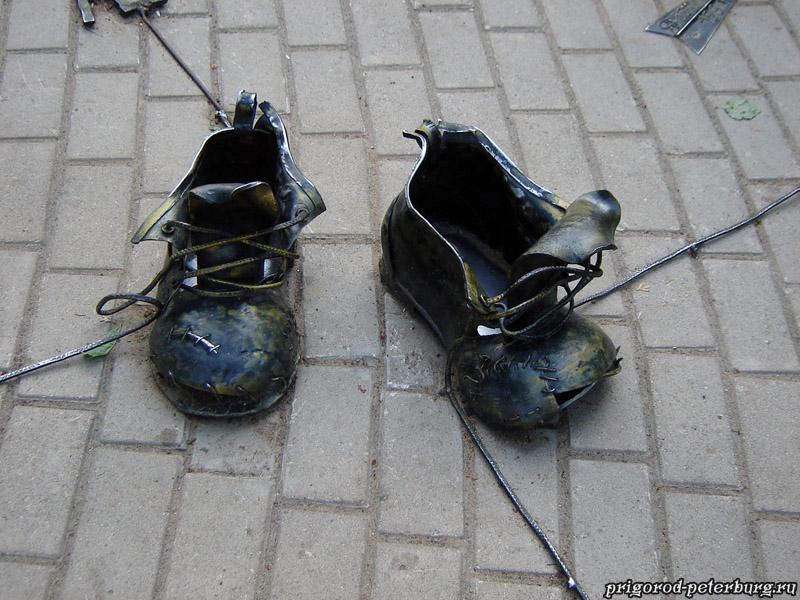 Зеленогорск - Ботинки безымянного дачника