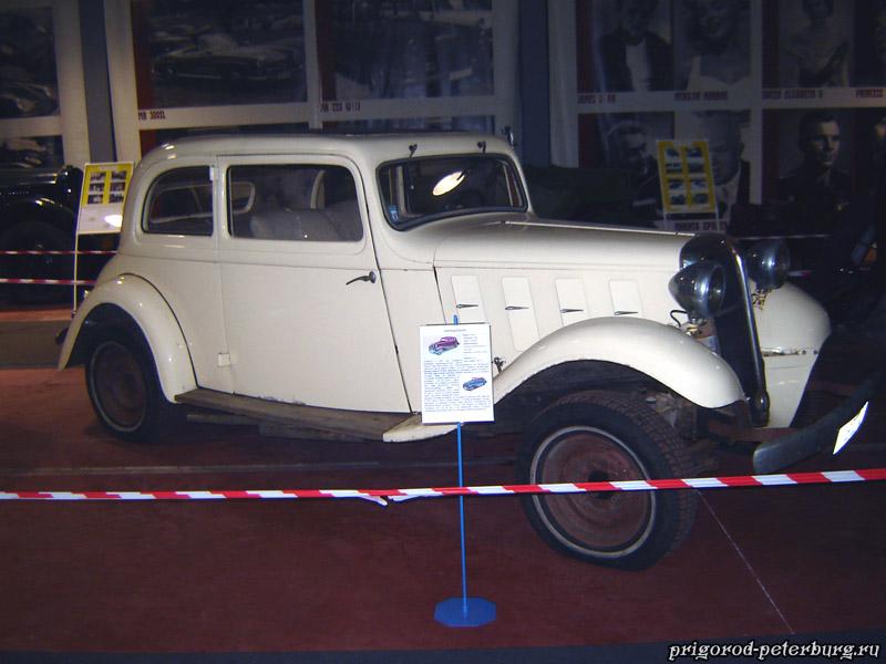 Зеленогорск - музей ретро автомобилей