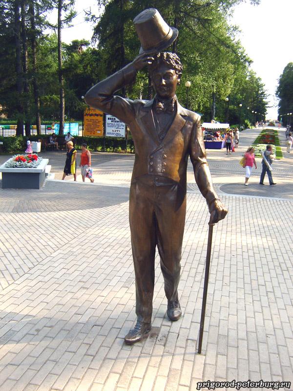 Зеленогорск - памятник Вицыну