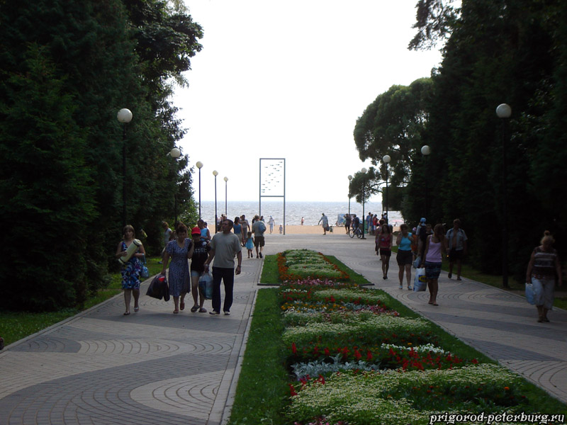 Зеленогорск - пляж