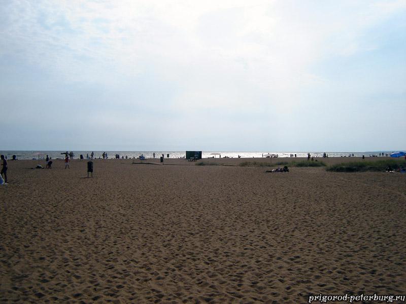 Зеленогорск - Золотой пляж