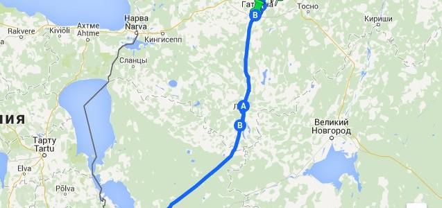 Как добраться до Пскова?